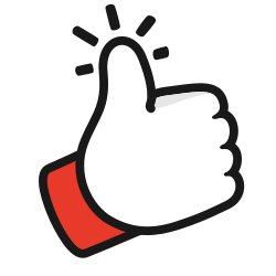 thumbs, up, gesture, like icon icon