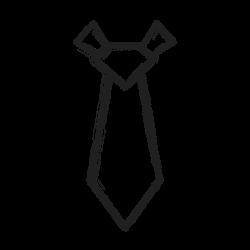 tie, fashion, neck tie icon icon