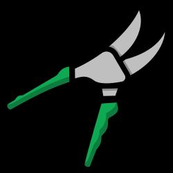 tool, secateurs, gardening, garden icon icon