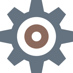 tools, preferences, setting, options, gear, settings, configuration icon icon