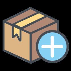 transportation, shipping, add, plusicon, logistic, plus icon icon