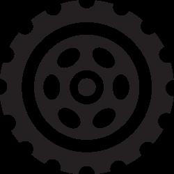 tyres, car, wheels, wheel, cars icon icon