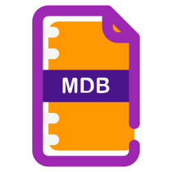 user, mdb, download, folder, documents, document, file icon icon
