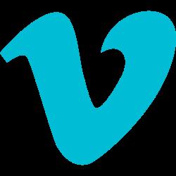 vimeo, social, logo, media icon icon