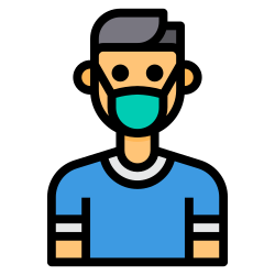 virus, mask, avatar, healthcare, coronavirus, covid icon icon