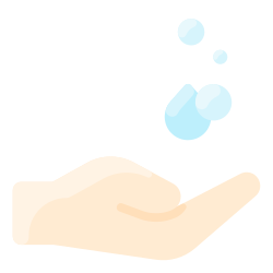 wash, hygiene, hand, water, soap icon icon