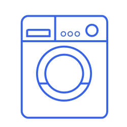 washing, house, machine, clean, device, washer, care icon icon