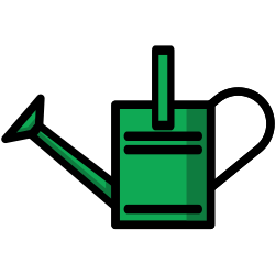 watering can, plant, gardening, garden icon icon