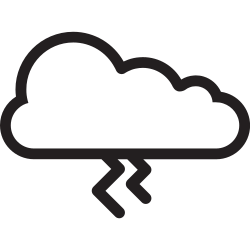 weather, storm, cloudy, cloud, thunder, forecast icon icon
