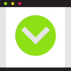 website, good, ok, good quality, okey, yes, page icon icon