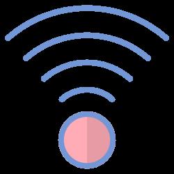 wifi, internet, ux, signal, ui, multimedia, user interface icon icon