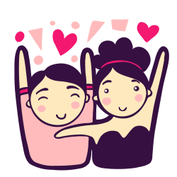 woman, love, happy, couple, party, man, wedding icon icon