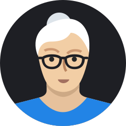 woman, old, grandmother, person, avatar, mature, user icon icon
