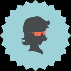 woman, silhouette, fashion, female, sunglasses, girl, lady icon icon