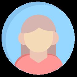 women, person, user, avatar, human icon icon
