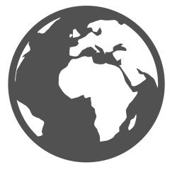 world, globe, online icon icon