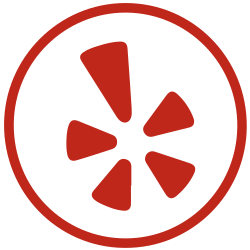 yelp, communication, shape icon icon